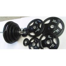 Олимпийский Rubble вес пластины Dumbellwith SGS (usnv82451)