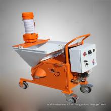Máquina de alta calidad de yeso pulverizado y bomba de cemento de motor diesel de pistón