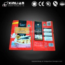 Embalagem de alimentos plásticos de qualidade alimentar para embalagens de bolinhos congelados