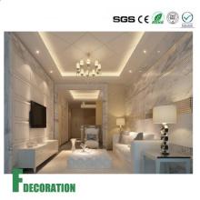 Los paneles de paredes de la ducha de la textura del mármol del tablero rígido del PVC de los materiales de construcción