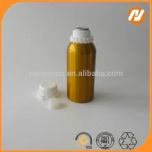 Golden color Aluminum Essential oil and purfume bottle
