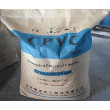CPVC COMPOUND FOR PIPE &FITTINGS WITH HIGH QUALITY