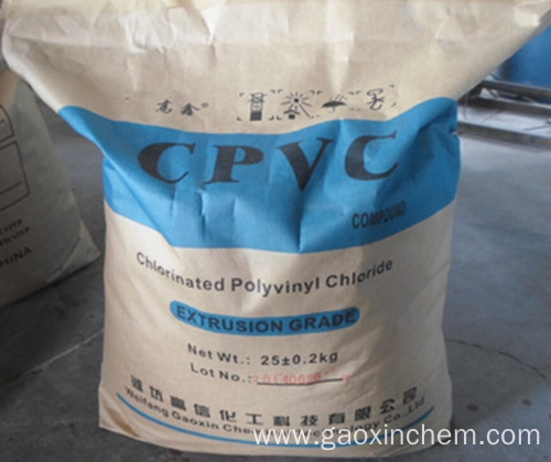 chlorinated polyvinyl chloride ( CPVC resin )