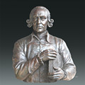 Philosophe de la statue de grande figure Adam Smith Bronze Sculpture Tpls-080