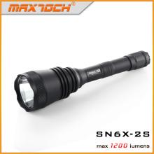Maxtoch SN6X-2S длинный диапазон Охота Flashligt 2 * 18650 батарею привели фонарик