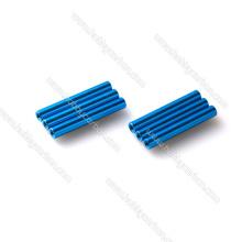 M2.5, M3, M4, M6, entretoises 6061 anodisées rondes d'aluminium de fil plein de M6, espaceurs