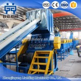 500kg/h PP PE film plastic recycling machinery, waste plastic recycle machine