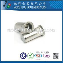 Hecho en Taiwán Alta calidad Aluminio M8 Remache Tuerca
