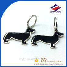 Schlüsselanhänger für Kinder Dekoration Malerei Metall Hund Schlüsselanhänger