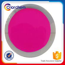 Pigmento Fluorescente para revestimento, impressão têxtil