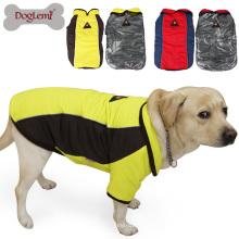 Aqueça o revestimento reversível confortável do animal de estimação do revestimento grande do cão da pata