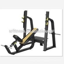 Máquina de ejercicio comercial Gym Decline Press de banco