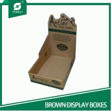 Caixas de exibição onduladas personalizadas caixas de exibição de PDQ corrugado