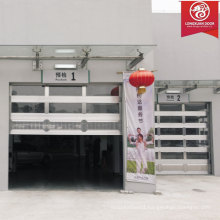 Custom Full View Clear Glass Garage Door, Aluminium Alloy Shutter Garage Door