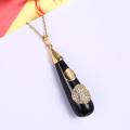 Colar de pingente de pingente de resina pingente de moda estilo estilo especial