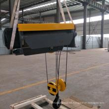Alzamiento de cuerda eléctrico montado en el pie de 20 toneladas del alambre deslizante