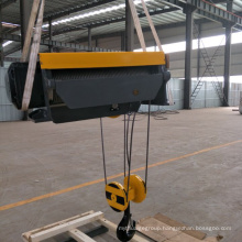 20Ton Foot Mounted Electric Wire Rope Hoist From The Sliding Wire