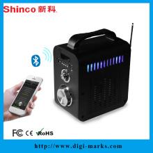 O mais baixo preço da venda quente Bluetooth portátil mini orador do karaoke dos multimédios