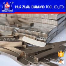 Segmento de herramientas de diamante para cortar piedra