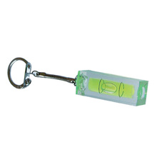 OEM Arcylic Key Chain Spirit Level Vial