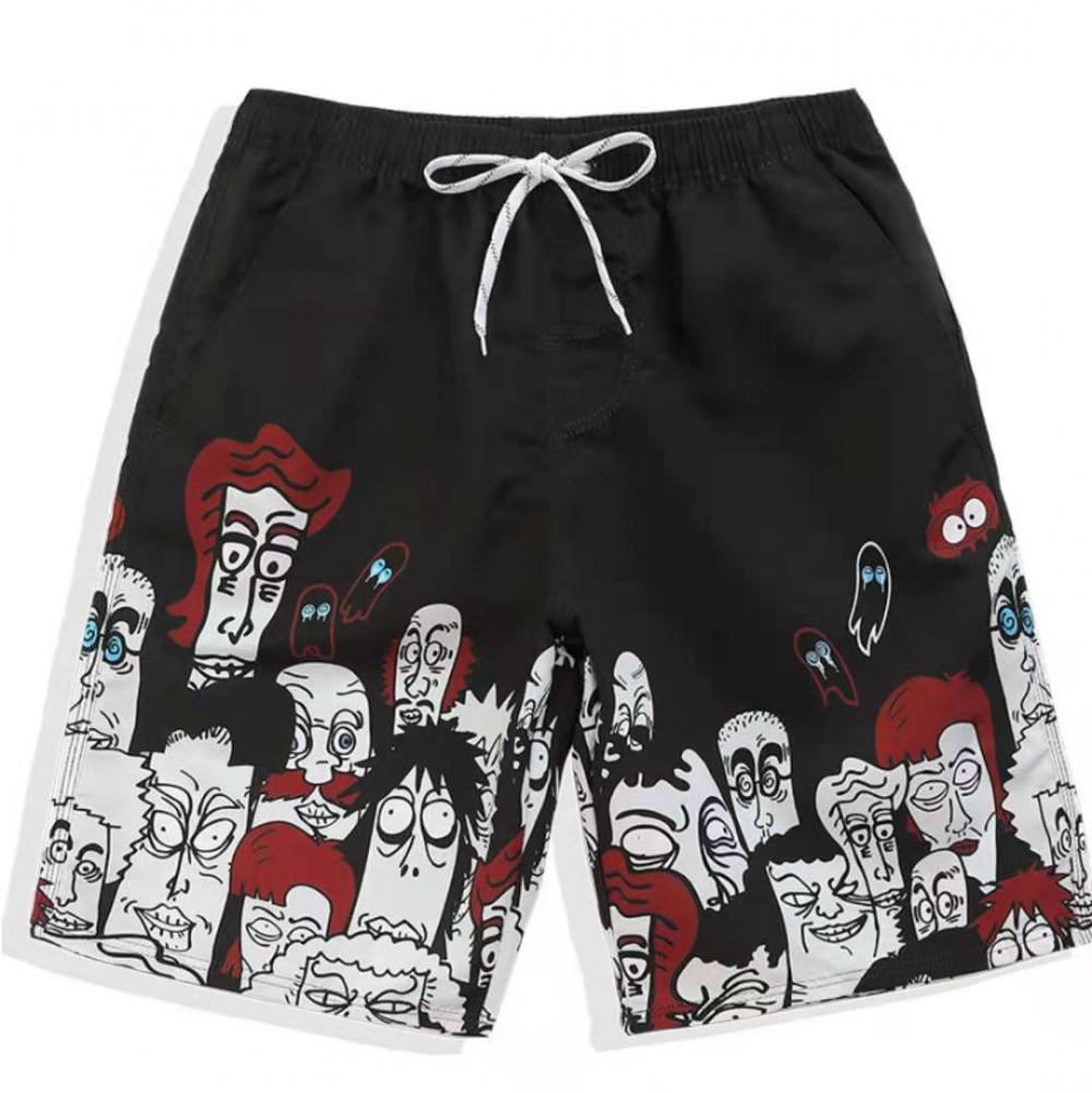 Beach Shorts With Drawstring Fashion