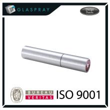 15ml SOLE Slim CNC cepillado de plata Twist Up Refill perfume Spray