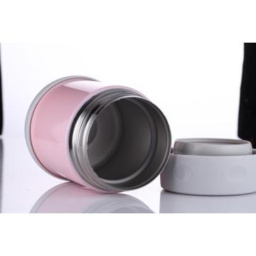 ステンレス鋼真空食品瓶 Svj 350 電子ピンク