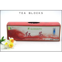 125g Saúde chinesa e slim blocos de chá preto