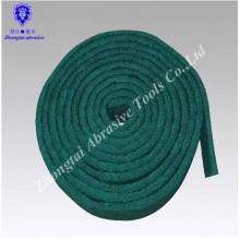green non woven abrasive roll cleaning scouring pad
