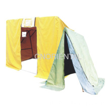 Folded Canvas Tents