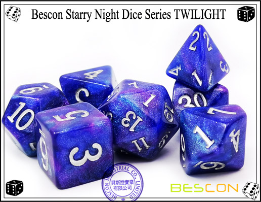 Starry Night Dice-13