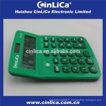 Mini calculatrice de bureau avec stylo à bille