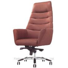 Chaise de bureau moderne à dossier haut en cuir arrière (HF-CH028A)