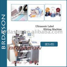 Máquina de corte de etiquetas ultra-sônica