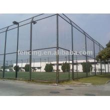 clôture galvanisée de treillis métallique de sport