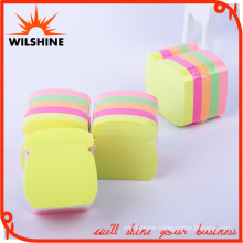 Custom Fluorescent Sticky Note in Different Shaped Paper Cube (SN010)