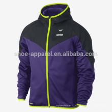 Терма-Fit мужская полный молнии трек куртка, отслеживать износ