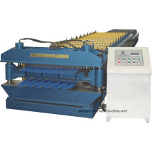 Galvanized Corrugated Steel Roof Roll Forming Machine