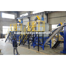 Pet Bottle Scrape Recycling Washing Machine