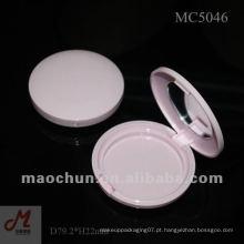 MC5046 plástico embalagem em pó cosmético