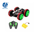 2.4G 4-wheel drive 360 degrees rotation and rolling in the water and land RC car toys