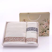 Conjuntos de toalhas de banho decorativos de algodão puro