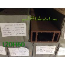 WPC деревянный настил поставщиков натуральных волокон полимерных композитов