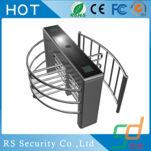 Half Height Entrance Turnstiles Security Access Gates