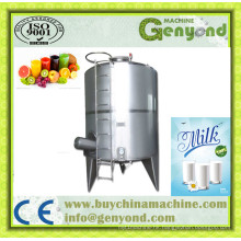 Food Grade Milk Storage Tank with Mixer