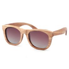 Nova venda quente esportes óculos de sol de madeira da moda
