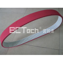 PU Timing Belt Coated With 8mm Red Rubber