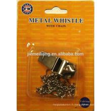 Sifflet de métal JML
