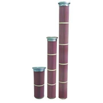 Cartucho de filtro de alta temperatura de Nomex para la planta de asfalto