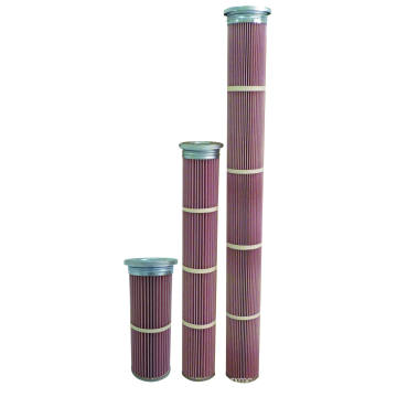 Cartucho de filtro de alta temperatura de Nomex para a planta do asfalto